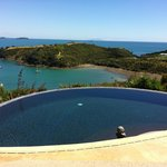 Infinity pool looking out into an amazing view
