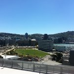 A beautiful day in windy Wellington.