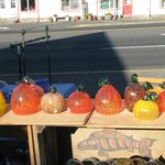 Local glass artists.