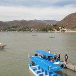 Vista al lago de Chapala