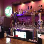 love the custom bar