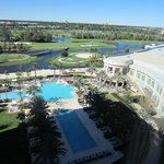pool area/ golf course, convention center