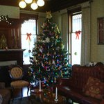 Living Room Holiday Tree