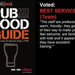 Voted: Best Service (Team)