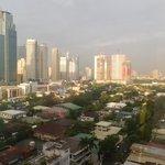 View from City Garden Hotel - Makati Sunrise 2.JPG