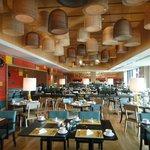 Lovely decor in Mosaic restaurant