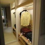 Walk-in closet/luggage area