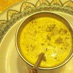 dolce: crema di riso al pistacchio