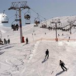 skiing at 8 min from auberge beity