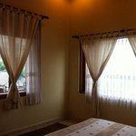 Bali style curtain