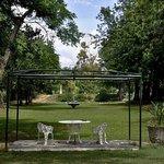 The entrance Garden to Umlambo Bed&Breakfast