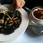 Mussels main course