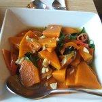 Stir Fried Pumpkin