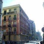 Arquitectura en calles perpendiculares a Princesa