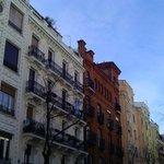 Fachadas en barrio Moncloa