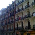 Fachadas en calles perpendiculares a Princesa