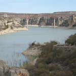 Pecos River bridge from the 'old' highway.