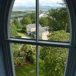 View from the top floor window