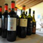 The vino...