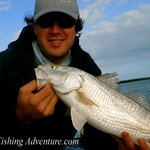 Winter Red Fishing In Carrabelle Florida
