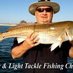 Monster Red fish all year long in Carrabelle Florida