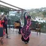 Flamenco on the Terrace