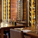 """photo of the """"wine room"""" at Osteria Pronto provided by the restaurant web site"""