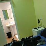 la camera con bagno
