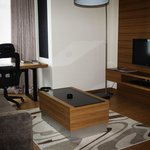 Seperate Living Area with LCD Tv and DVD Player (1-Bedroom Suite)