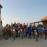 motocalcata Val d'Orcia
