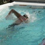 Swim Hot Tub