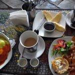 colorful delicious desayuno