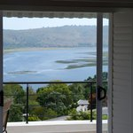 View from Spitskop Suite of the Knysna Lagoon