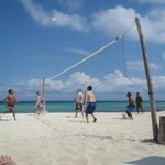 Volleyball open at 10am and 4pm everyday!!