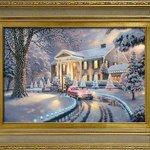 Graceland painting by Thomas Kincaide