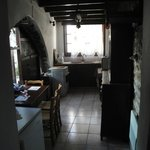 View of the Kitchen from our first room