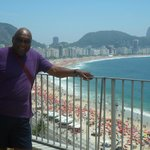 Me on the Terrace overlooking Copacabana