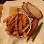 Pork Loin with home fries