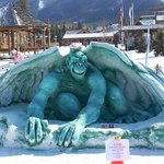 Ice Sculpture from 2011 Wizard of Oz Winter Carnival