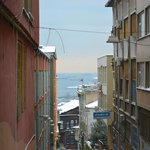 View from the neighborhood south to the Sea of Marmara