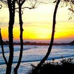 Sunset from Beach Break Lodge