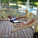 Ahhh... the hammock
