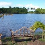 Loveseat at the lagoon