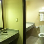 Room 1120: separate sink room from bathtub and toilet.