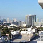 Dal balcone: vista verso Miami