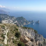 View from Summit of Anacapri - Chair Lift