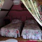 """Um dos quartos da """"nossa"""" casa."""