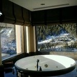nice room with a jacuzzi