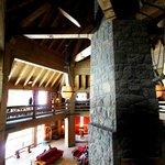Timberline Lodge's Circular Balcony