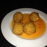 Fried Pimento Cheese with Peggy Rose's Hot Pepper Jelly